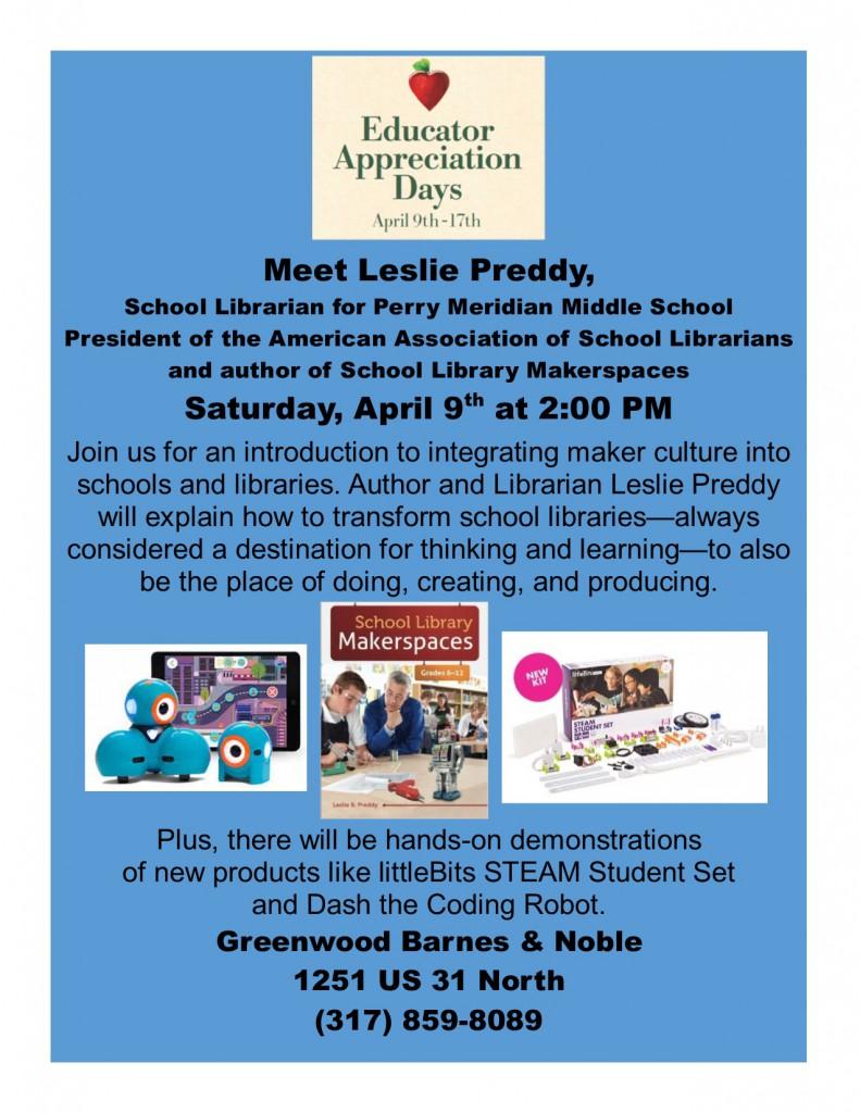 2016-4-9 Leslie Preddy Event (1)