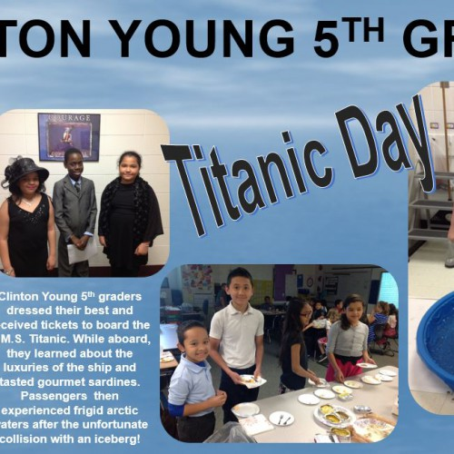 Clinton Young Titanic Day
