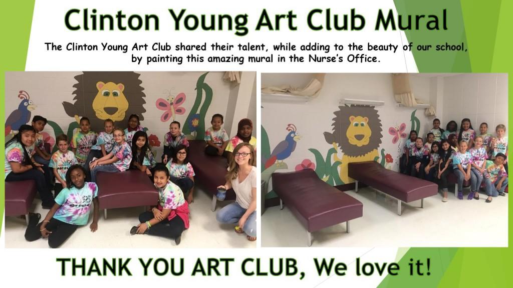 Art Club Mural