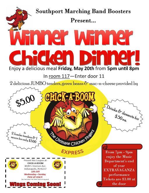Chicken Dinner master