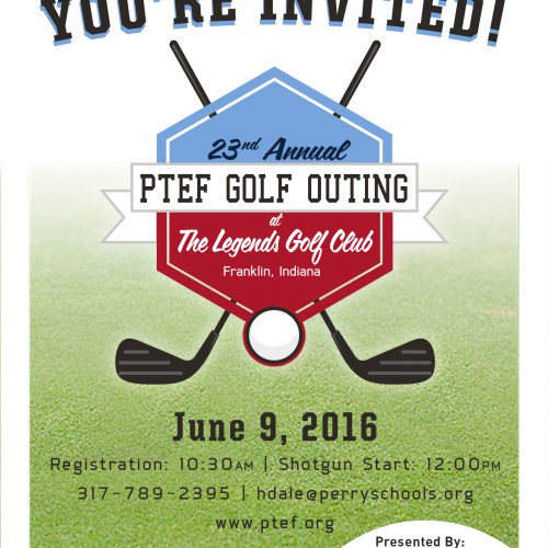 Register Now for 23rd Annual PTEF Golf Outing
