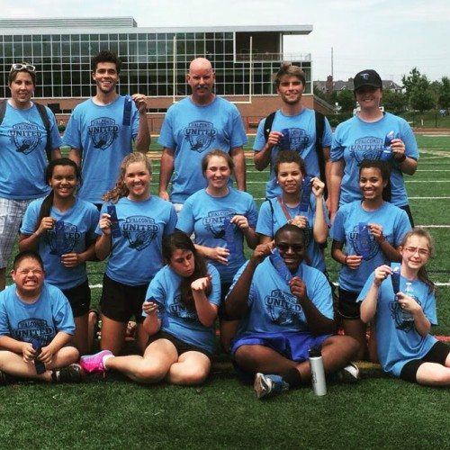 Falcon Unified Track Qualifies for State