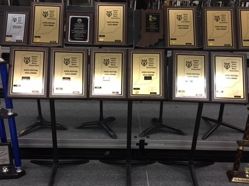 PMHS Music Department Strikes a lot of Gold in 2016