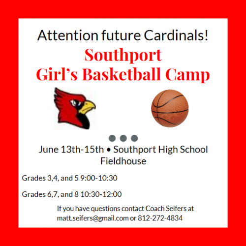 shs girls bball camp