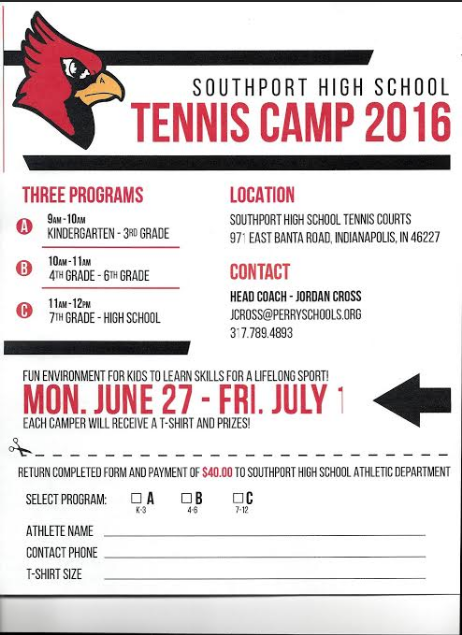 shs tennis camp 2016