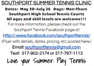 shs tennis clinic