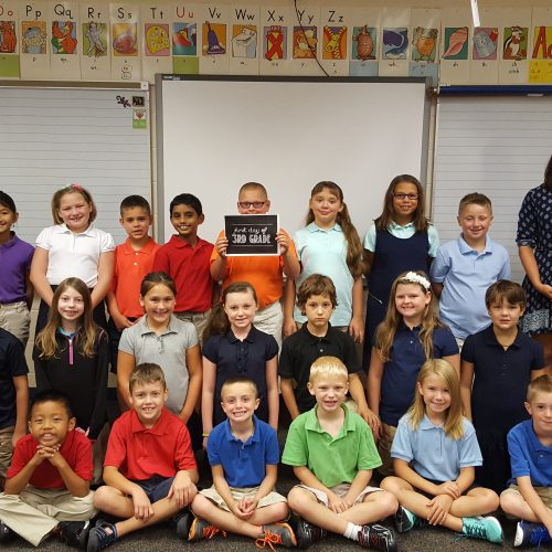 Students Enjoy First Day!