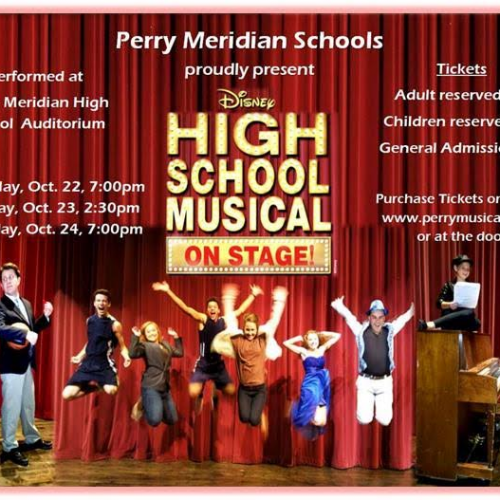 "Perry Meridian High School proudly presents ""Disney High School Musical On Stage!"""