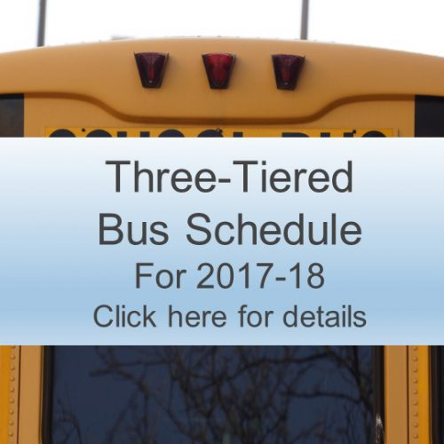 Three-Tiered Bus Schedule Approved
