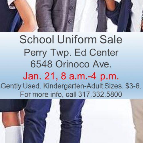 Uniform Sale Rescheduled