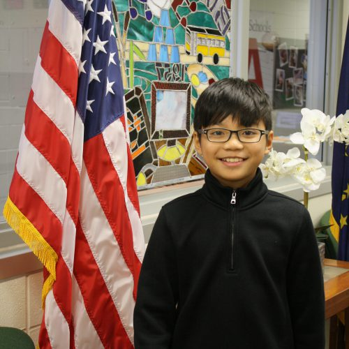 Burkhart's Spelling Bee Champ