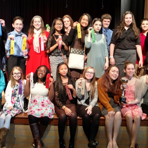 PMMS Speech Team places 3rd at Riverside Invitational