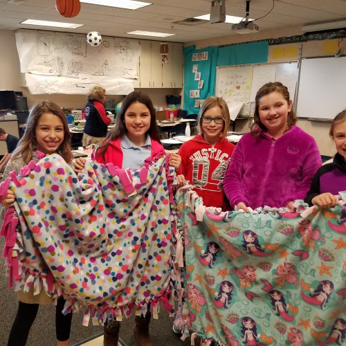 Rosa Parks Students Support Project Linus