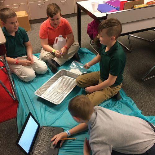 Studying Tsunamis at Abraham Lincoln
