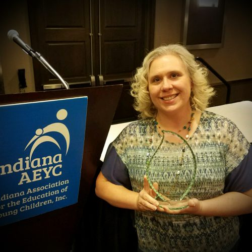 Award Winner at Indiana AEYC