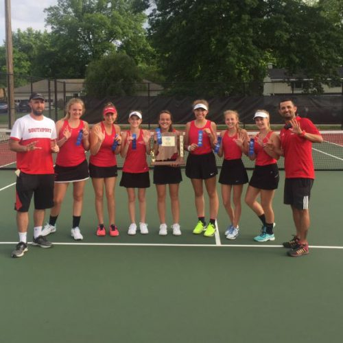 SHS Wins Sixth Consecutive Sectional Title in Tennis