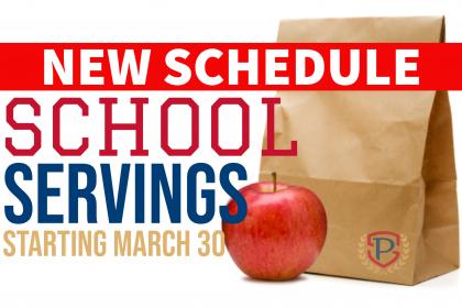 new school servings