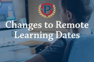 Changes to Remote Learning Dates