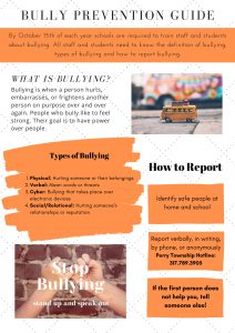 Bullying prevention guides