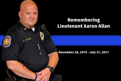Lt. Aaron Allan